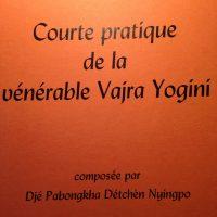 Courte pratique de la vénérable Vajrayogini – Ebook