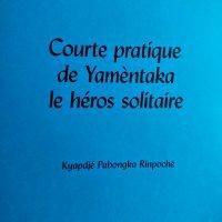 Courte pratique de Yamentaka, le héros solitaire – Format papier/ebook