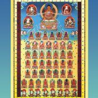 Prosternations aux 35 bouddhas de confession – Papier