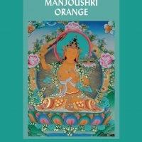 Méditation sur Manjoushri orange – Papier