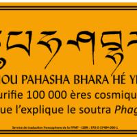 Carte du mantra de Phakpa Tchouloung Reulpè Deu