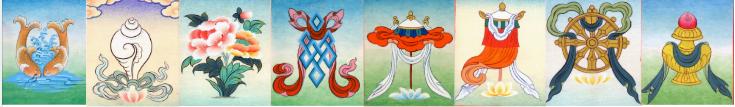 editions mahayana signes auspicieux