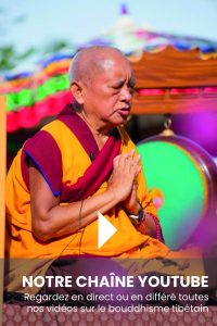 La chaîne YouTube des Éditions Mahayana : Conseils de Lama Zopa Rinpoché et coronavirus