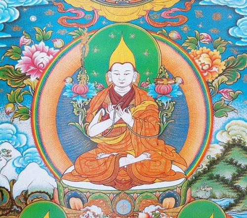 Prières à Lama Tsongkhapa