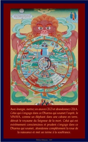 editions mahayana carte roue de la vie