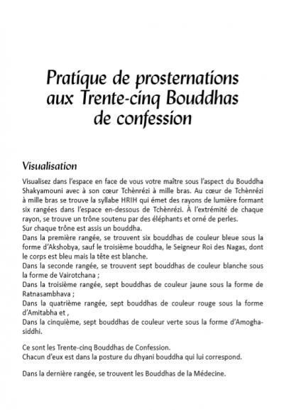 35 bouddhas de confessions editions mahayana