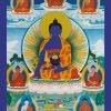 recto carte du Bouddha de la medecine editions mahayana