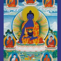 Carte du Bouddha de la Médecine