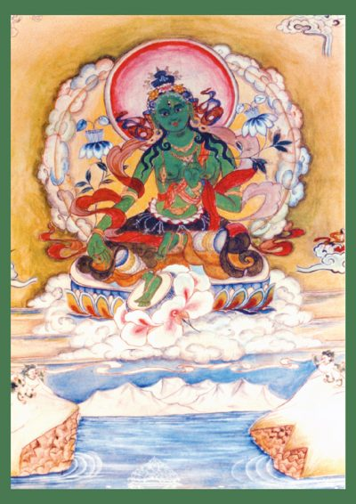 Editions Mahayana Tara verte