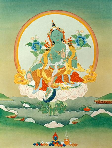 Méditer à la maison : Thème n° 1 : Tara, la libératrice
