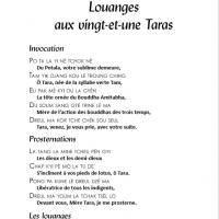 Louanges aux 21 Taras – Fichier pdf