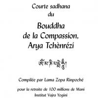 Sadhana du Bouddha de la compassion – Fichier pdf