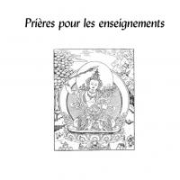 Prières pour les enseignements – Format PDF