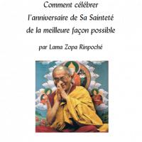 Comment célébrer l'anniversaire de Sa Sainteté – Format PDF