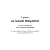 Hymne au Bouddha Shakyamouni – Format PDF