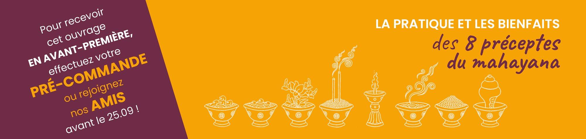 les 8 preceptes du mahayana
