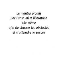Mantra promis par l'arya mère libératrice – PDF