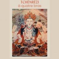 Courte pratique de Tchènrézi à quatre bras – Papier